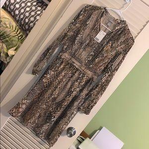 NWT H & M snakeskin dress!
